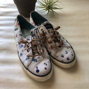 Sperry X Gray Malin Collection Boat Shoes Size 8